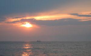 Kveldsstemning på havet